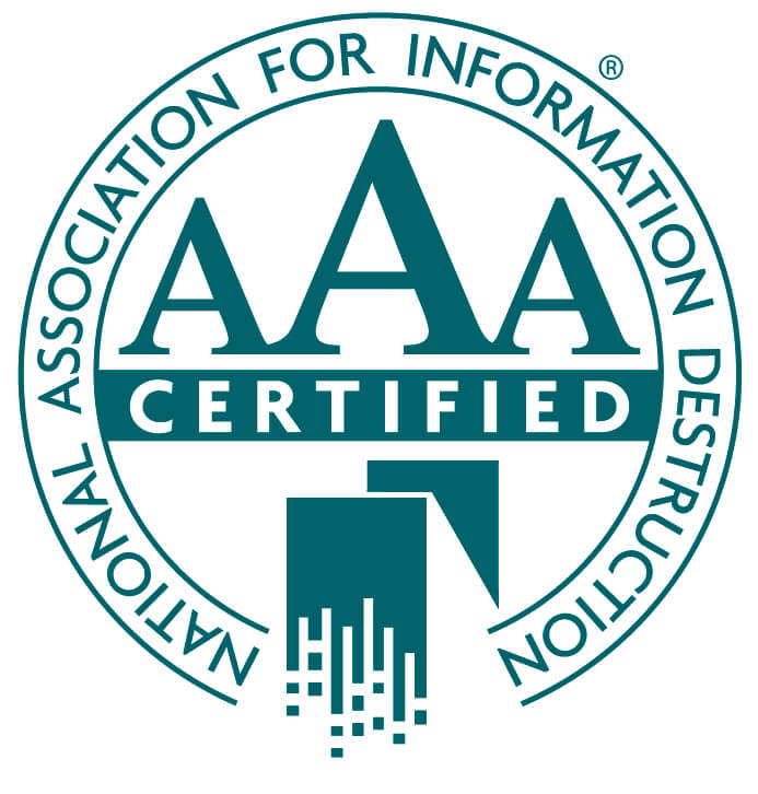 National Association for Information Destruction Certified Member